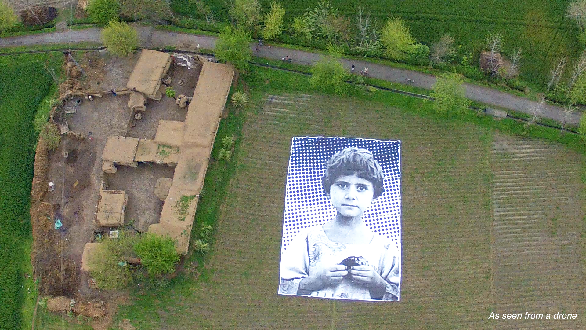 A Giant Art Installation Targets Predator Drone Operators